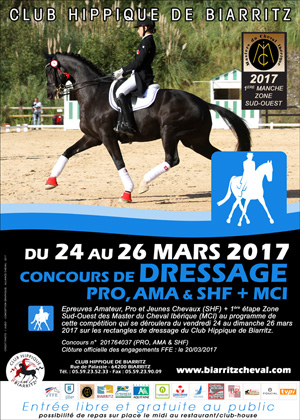 DRESSAGE AMA PRO SHF PONEY CLUB