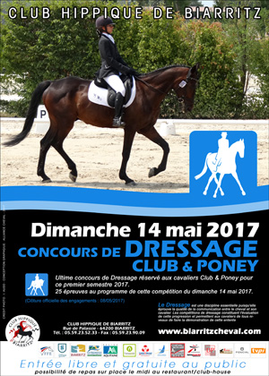 DRESSAGE CLUB PONEY