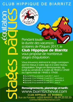 club hippique de biarritz equitation bienvenue. Black Bedroom Furniture Sets. Home Design Ideas